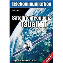 Satellitenfrequenz-Tabellen