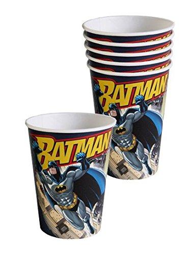 DYNASTRIB Batman Gobelets 9005569 Multicolore, 25 CL
