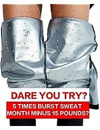 Pantalones para adelgazar,Pantalones Deportivos Mujer, Pantalón de Sudoración Adelgazar, Leggings Push Up