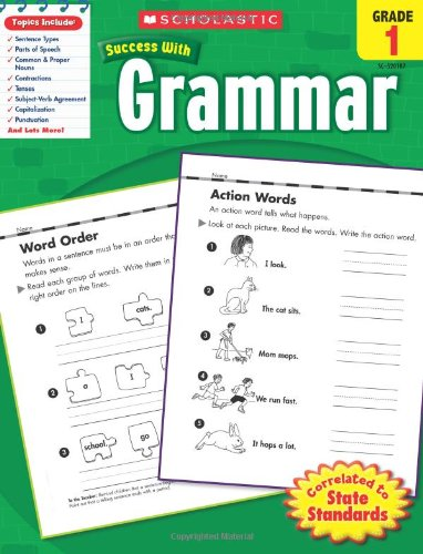 Grammar, Grade 1 (Success With Grammar)