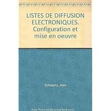LISTES DE DIFFUSION ELECTRONIQUES. Configuration et mise en oeuvre