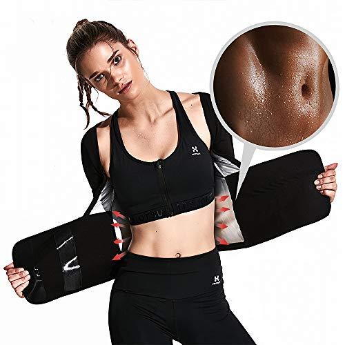 3185eddbf6 HOTSUIT Pantalones Cortos de Sauna para Mujer para Fitness pérdida de Peso  Moldeador de Cuerpo,