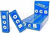 OCB-Papel para Liar Cigarrillos Azul 25librillos de 50Papeles Cada
