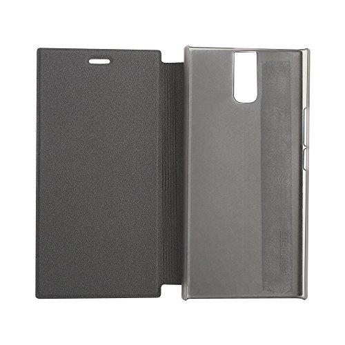 Oukitel K3 Case Hülle 2 in 1 Flip Hülle Handysocken S-View Schutzhülle Tasche und - Beschützer Smartphone (Schwarz)
