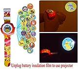 Pikachu Reloj de Proyección Digital 20 Imágenes Diferentes