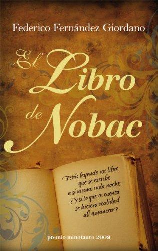 El libro de Nobac (Premio Minotauro)