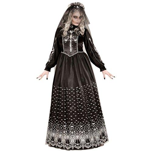 WIDMANN 06402 Erwachsenen Kostüm Skelettbraut, Womens, M