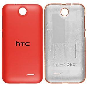 Original HTC Akkudeckel orange für HTC Desire 310 (Akkufachdeckel, Batterieabdeckung, Rückseite, Back-Cover) - 74H02716-02M