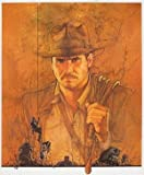 INDIANA JONES RAIDERS OF THE LOST ARK – Harrison Ford – US Textless Imported Movie Wall Poster Print - 30CM X 43CM Brand New