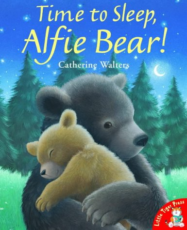 Time to sleep, Alfie Bear!