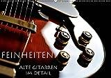 Feinheiten - Alte Gitarren im Detail (Wandkalender 2019 DIN A2 quer): Markante Details alter Gitarren. (Monatskalender, 14 Seiten ) (CALVENDO Kunst)