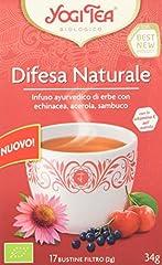 Idea Regalo - Yogi Tea Difesa Naturale Infuso Di Erbe - 17 Bustine Filtro [34 gr] - [confezione da 3]