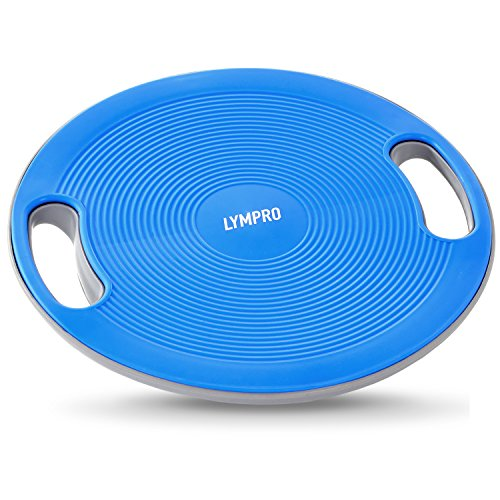 LYMPRO plataforma de equilibrio, Ø 40 cm, hasta max. 200 kg – tabla de equilibrio / disco de equilibrio – para una correcta postura corporal - con 2 años de garantía de devolución de dinero