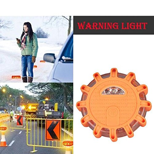 LED Warnleuchte, Portable LED Flash Autoverkehr Warnung Licht Super Bright Crush Widerstand