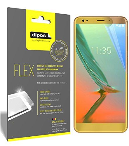 dipos I 3X Schutzfolie 100prozent passend für ZTE Blade V9 Vita Folie (Vollständige Bildschirmabdeckung) Bildschirmschutzfolie