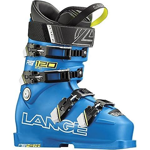 Larga Botas de esquí para mujer, color azul, tamaño 25