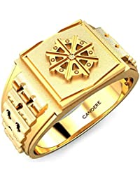 Candere By Kalyan Jewellers 22k (916) Yellow Gold Depp Ring for Men