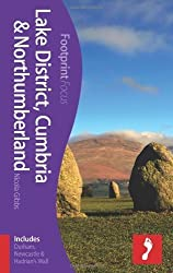 Lake District, Cumbria & Northumberland Footprint Focus Guide: (includes Durham, Newcastle & Hadrian's Wall) by Nicola Gibbs (2013-04-19)