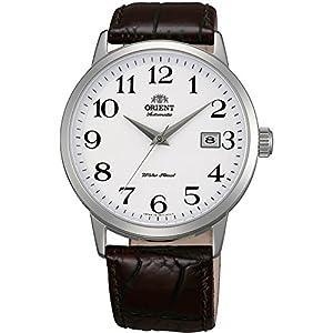 Orient Reloj Analógico para Hombre de Automático con Correa en Cuero FER27008W0