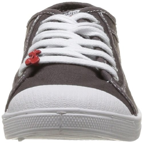 Le Temps des Cerises Basic 02 Fancy, Baskets mode femme Gris (Charcoal)