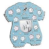 Cornice fotografica Mascagni Idea regalo bambini Il primo anno - Azzurr