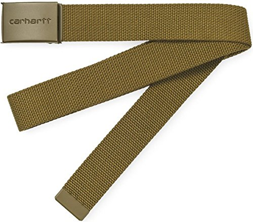 Carhartt WIP Herren Gürtel Clip Belt Tonal braun One Size -