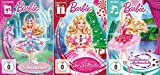 3 DVDs - Barbie: Ballett Set (Schwanensee / Nußknacker / verzauberten Ballettschuhe) - Deutsche Originalware [3 DVDs]