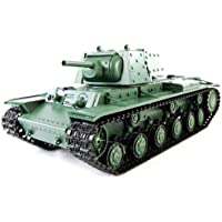 1/16 RUSSIAN KV-1 RC TANK WITH SMOKE AND SOUND - Compare prices on radiocontrollers.eu