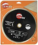 Leman 68230 diamant-Felge weiterhin 230 x 30/25,4 x 22,23 mm, Höhe 5 mm