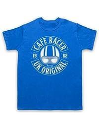 Cafe Racer UK Original Motorcycle Ton Up Herren T-Shirt