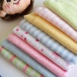 amazing-trading Waschtuch-Set für Babys, 8 Stück, Baumwolle, Reinigungstuch für Gesicht/Hände etc.