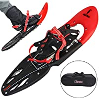 ALPIDEX Snowshoes 29 INCH including carrying bag - available with or without poles