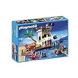 Playmobil - 5622 - Pirates avec Canon et Tour de ...
