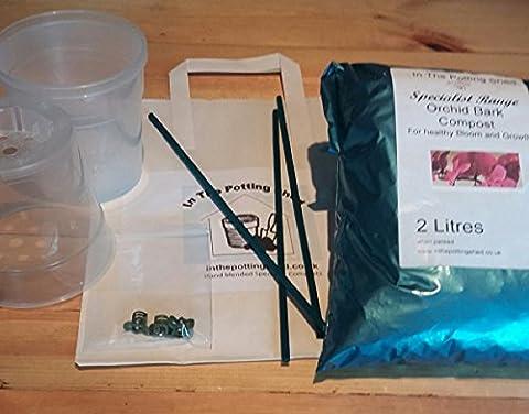 Petite orchidée rempoter Kit