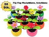 Alsino-20-Stck-Wackelblume-Solarblume-Solarflower-Flip-Flap