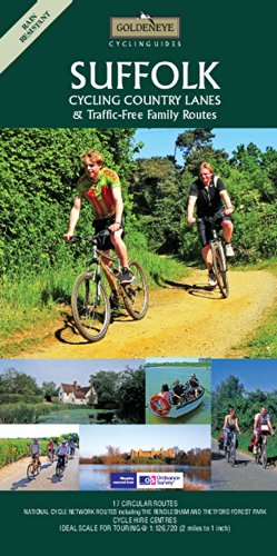 Suffolk Cycling Country Lanes & Traffic-free Family Routes (Goldeneye Cyclinguides) por Al Churcher