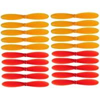 elecfan 2 Vane Hubsan X4 H107D FPV Quadcopter Rotor Propellers Blades Props 5X H107D-A06 NEW RC 4-axis Plane - Yellow & Red - Compare prices on radiocontrollers.eu