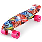 ENKEEO Complete Mini Cruiser Penny Skateboard 22 inch Review and Comparison
