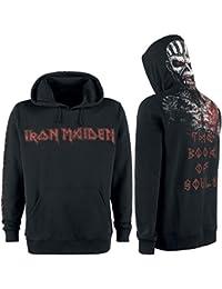 Iron Maiden The Book Of Souls Eddie Sweat à capuche noir