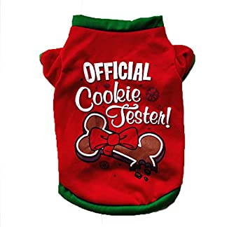 venmo christmas dogs clothes outfit knitted cute bone patterns xmas puppy t shirts for small dogs (l, red) VENMO Christmas Dogs Clothes Outfit Knitted Cute Bone Patterns Xmas Puppy T Shirts For Small Dogs (L, Red) 51HKR1 2B3UkL