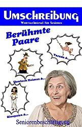 Umschreibung Berühmte Paare: Seniorenbeschäftigung - Rätsel (Wortsuchrätsel für Senioren)
