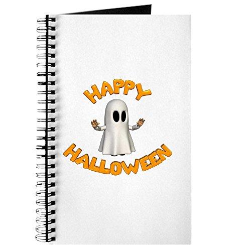 lloween Ghost - Spiralgebundenes Tagebuch, persönliches Tagebuch, blanko ()