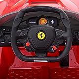 Goplus 2.4G La Ferrari Rot Ride-on Kinder Elektrofahrzeug Kinderfahrzeug Elektroauto - 8