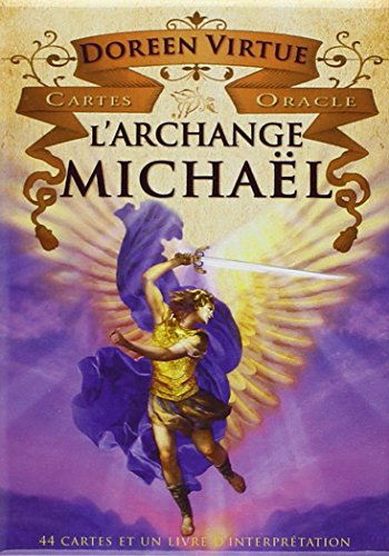 Cartes oracle L'archange Michaël : 44 cartes et un livret d'interprétation