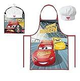 Cars Kinder Koch-Set Kochschürze und Kochmütze