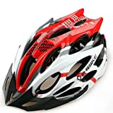 DAYISS®2014 New INBIKE Cycling BMX Bicycle Hero Bike Helmet With Visor Red