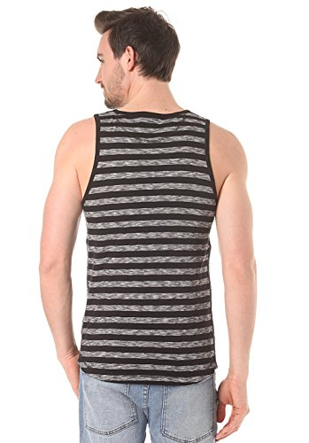 Ragwear TERRY STRIPES TANK TOP black Black