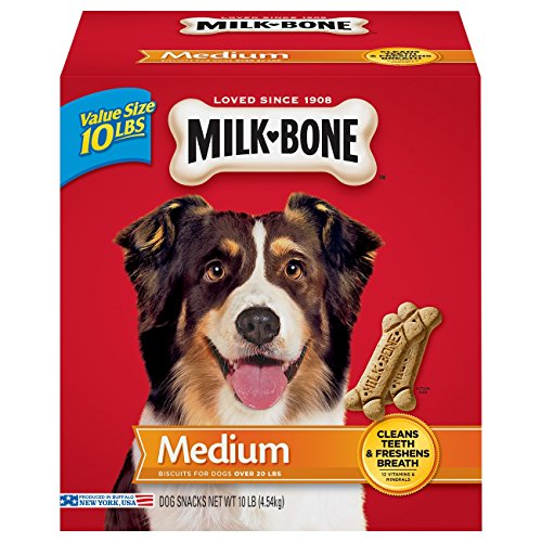 Artikelbild: Milk-Bone Original Biscuits Cleans Teeth Dental Chew Snack Treats Medium 10lbs