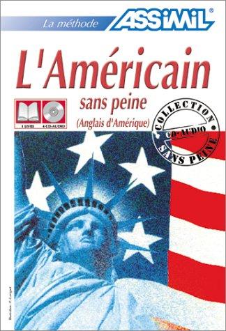 L'Américain sans peine (1 livre + coffret de 4 CD)