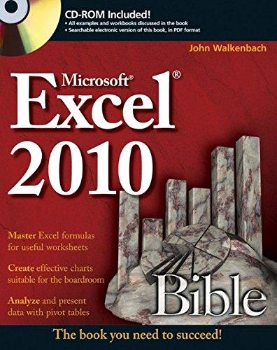 Excel 2010 Bible par John Walkenbach